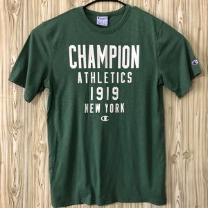 Champion Athletics 1919 New York T shirt